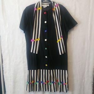 Anne Crimmins UMI Collection Rainbow Dress
